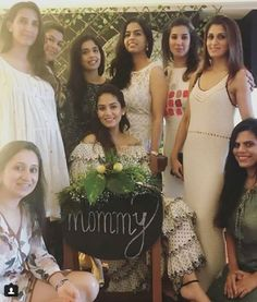Shahid Kapoor Hosts A Baby Shower For Wife Mira Rajput Kapoor; See Inside Pictures! Toddler Girl Dresses, Girls Dresses, Mira Rajput, Shahid Kapoor, Bollywood Gossip, Flower Lights, Bridesmaid Dresses, Wedding Dresses, Dress Up