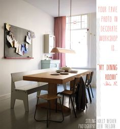 My Home: Iris Rietbergen by decor8, via Flickr dining room, rustic, cottagem eclectic