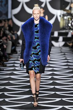 Look #31 Bohemian Wrapsody Fall 2014 #NYFW http://on.dvf.com/PINFALL2014