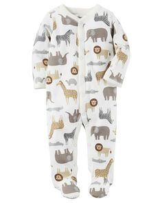 Baby Boy Cotton Snap-Up Sleep & Play from Carters.com. Shop clothing & accessories from a trusted name in kids, toddlers, and baby clothes. https://presentbaby.com