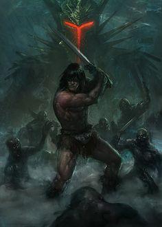 #Conan by Memed.deviantart.com on @deviantART