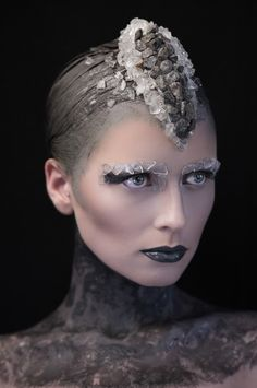 Photographer: Marc Hayden @ Zone Models, Maxarella Smith Hair/MUA/Head Pieces: Anna Lingis Nail Tech: Irene Christou