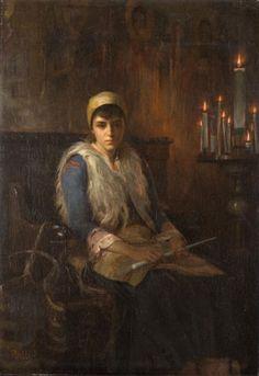Ράλλης Θεόδωρος-An offertory candle