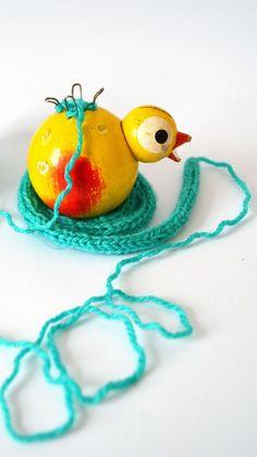 Wool bird ;)