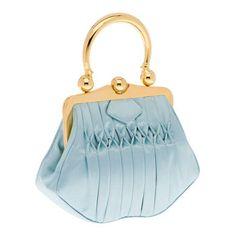 Miu Miu Satin handbag with hand-stitched smocking detail Miu Miu Handbags 7e29bdb1204ed