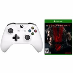 xBox-One-S-White-Wireless-Controller-Metal-Gear-Solid-V-Phantom-Pain-Bundle