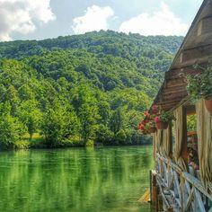 Vrbas River photographed in Banja Luka, Republic of Srpska. Vrbas got its name…