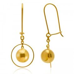 Circulaire Attractive Earrings - MettaGems | Natural Gemstone Jewelry, Direct from manufacturers  18K Solid Gold