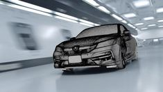Mill+ collaborated with Dentsu Japan to create the innovative 'Light Trace' for the Honda Accord sport hybrid.