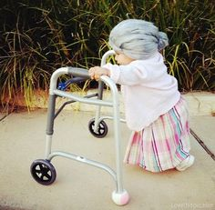 Little Old Lady Baby Costume Pictures, Photos, and Images for Facebook, Tumblr, Pinterest, and Twitter