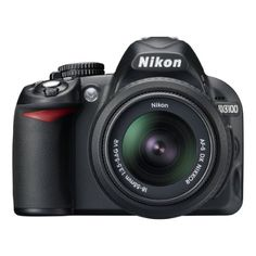 Nikon D3100 14.2MP Digital SLR Camera (Black) with AF-S 1…
