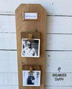 Photo Display Board, Photo Displays, Cedar Fence Boards, Clutter Organization, Sign Stencils, Paint Companies, Dixie Belle Paint, Aging Wood, Old Signs