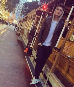 """""""Been there. Done it. Got the trolley. #sanfrancisco"""""""