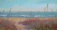 'To the Beach'                8x10                  pastel  SOLD Today's painting is inspired by one of my favorite places...Sanibel Island,...