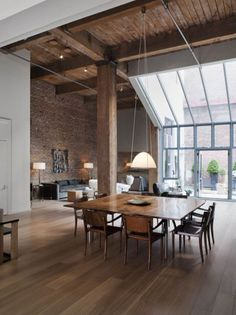Getting inspired with some loft living ideas.