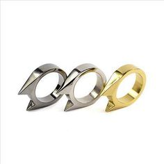 Cat Ear EDC Key Chain Self Defence Ring