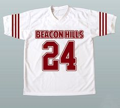 TEEN WOLF Stiles Stilinski #24  Beacon Hills Lacrosse Jersey All Stitched and Sewn New XS-3XL