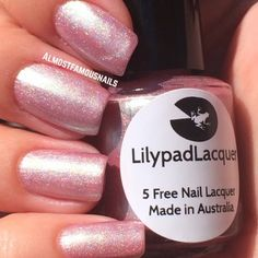 Lilypad Lacquer Tender Touch - Delicate Duos Collection (pinned from Almost Famous Nails). Bought from Llarowe (July 2014)