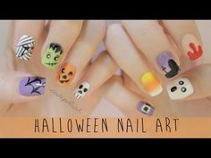 ▶ Nail Art for Halloween: The Ultimate Guide! - YouTube