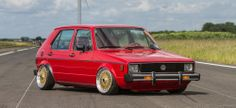 Will Smith ist: The Man in Red - 1980er VW Golf Rabbit