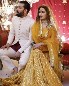 Iman Ali wedding pictures with Babar Bhatti - Pakistani Wedding Bridal Mehndi Dresses, Mehendi Outfits, Pakistani Wedding Dresses, Pakistani Dress Design, Dress Wedding, Bridal Outfits, Wedding Bride, Wedding Decor, Wedding Ideas