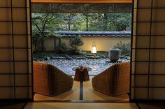 guest room view at Gora Kadan ryokan Hakone Japan