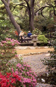Descanso Gardens, La Cañada Flintridge California