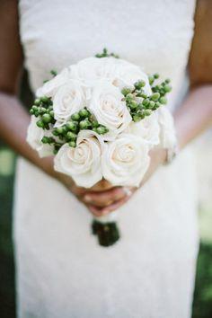 white roses - a true classic