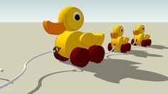 Ducky - 3D Warehouse