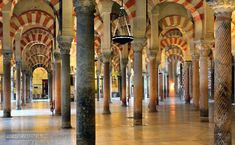 Mosque of Córdoba - The stunning interior of the Mosque of Córdoba, one of the most impressive monuments in Spain and the most interesting, amazing space I have ever been visited.