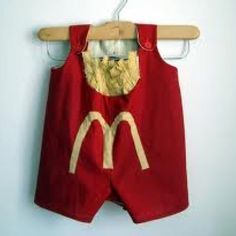 Baby French fries costume