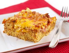 Bacon and Egg Breakfast Casserole | Baking and Cooking Blog - Evil Shenanigans