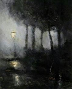 James Bolivar Manson-Night Scene. 1900