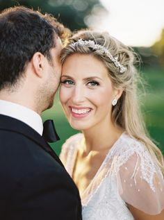 Photography: When He Found Her - whenhefoundher.com Hair: Salon Bespoke - Toronto - www.salonbespoke.ca/ Wedding Dress: Rosa Clara - www.voguesposa.ca/   Read More on SMP: http://stylemepretty.com/vault/gallery/57226