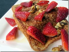 "Healthy French Toast from ""The DASH Diet Cookbook."""