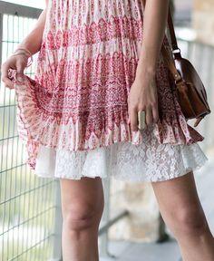 Lace Flounce Skirt Extender