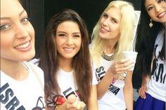 Polémica por un selfie entre Miss Líbano y Miss Israel (Foto)