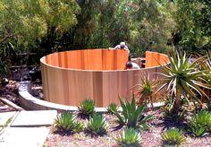 Building our custom 12' round cedar spa in Malibu. One of our largest hot tubs ever built. www.gordonandgrant.com