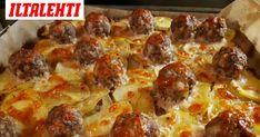 Lihapullapellillä tutut raaka-aineet ovat hieman eri muodossa. Food Tasting, Baking Recipes, Pepperoni, Bakery, Recipies, Food And Drink, Pizza, Favorite Recipes, Ethnic Recipes