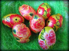 Pisanki One stroke  One stroke easter eggs