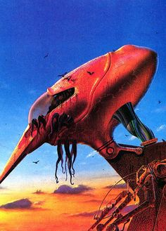 War Of The Worlds - Illustration by Roger Dean and Tim White Syd Mead, Roger Dean, 70s Sci Fi Art, English Artists, Science Fiction Art, Fantasy Illustration, Illustrations, Sci Fi Fantasy, Cool Art