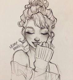 This site contains information about cute drawings of people. Girl Drawing Sketches, Pencil Art Drawings, Cool Art Drawings, Easy Drawings, Pencil Drawing Tutorials, Cute Drawings Of People, Drawing People, Sketches Of People, Cartoon Kunst