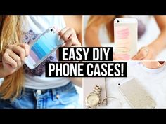 Easy & Affordable DIY Phone Cases | LaurDIY