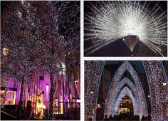 Christmas Lights on Oxford and Regent Street, London