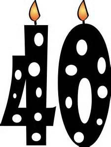 Happy 40th Birthday Clip Art - Bing Images