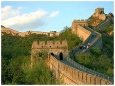 I will walk the entire wall of China...one day...