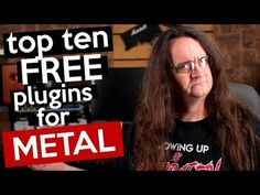 Top 10 Free Plugins for Metal - 2019 edition! - YouTube Logic Pro X, Sound Studio, Hard Rock, Cool Things To Make, Metal, Youtube, Audio, Free, Tops