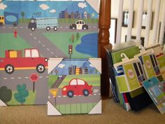little boy transportation bedroom | ... transportation-themed room for our little man, and he just can't wait