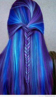 Cool Purple Hair
