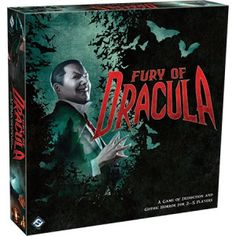 """The dead travel fast.""   -Bram Stoker, Dracula  The most notorious vampire of all rises again in this third edition of Fury of Dracula, a board game of deduction and gothic horror based on Bram Stoker's classic novel. One player takes control of the legendary Count Dracula as he stealthily crosses Victorian-era Europe, spreading his diabolical vampirism everywhere he goes. Up to four other players govern Mina Harker and her determined companions as they try to locate and destroy the…"